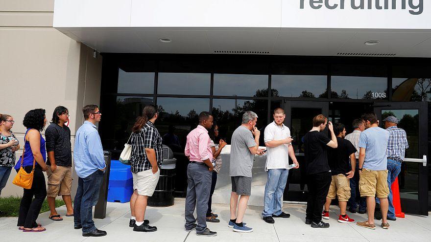 Taxa de desemprego nos EUA mantém-se estável
