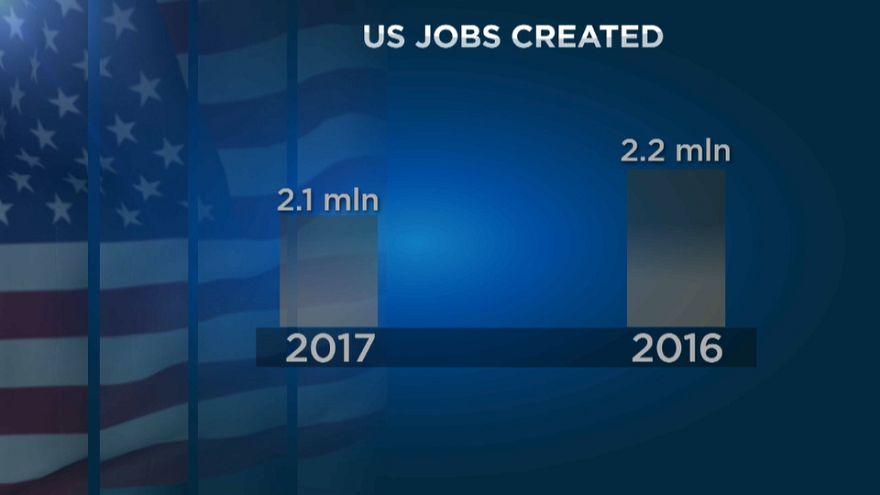 USA: Arbeitsmarkt hält weiter Kurs