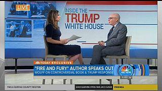 """""""Fuego y Furia"""" hace furor en Estados Unidos"""
