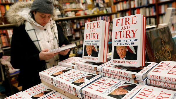 Trump'ı kızdıran kitaba büyük ilgi