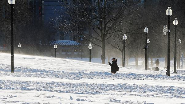 Mετά το χιόνι, πολικό ψύχος στις ΗΠΑ
