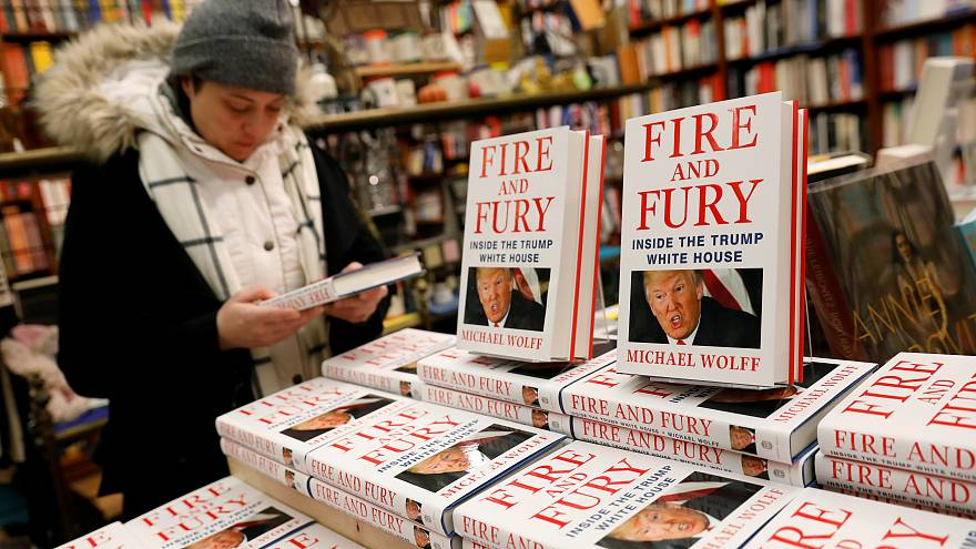 At the Book Culture book store in New York, U.S. January 5, 2018