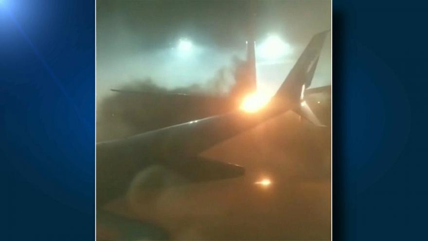 Столкновение самолетов в Торонто