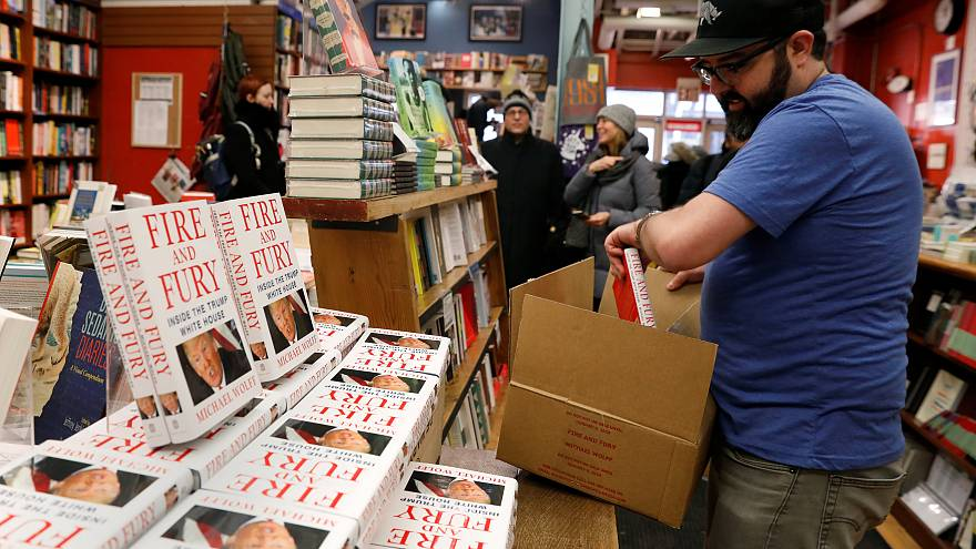 Sensational Trump book becomes an instant bestseller