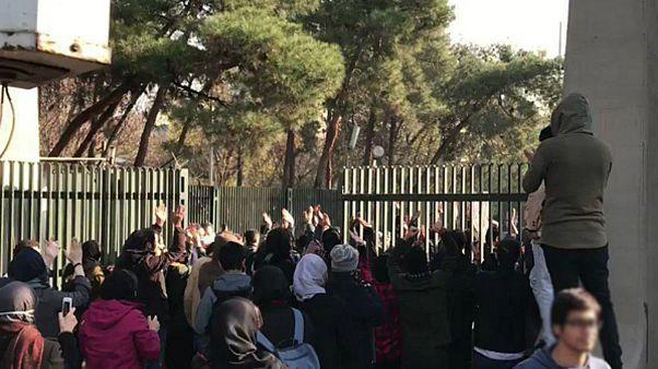 Tehran UNIVERSITY/PROTESTS