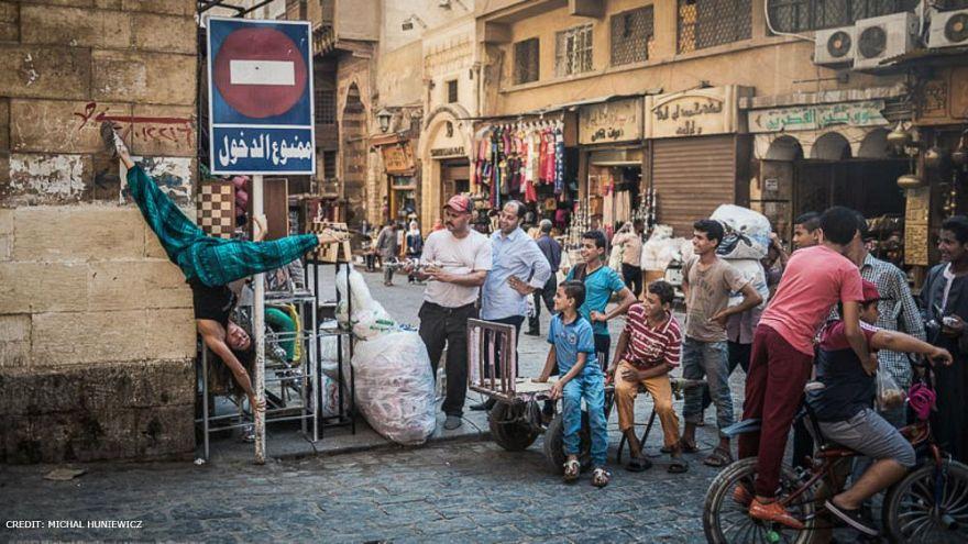 Mısır'da 'direk dansı' (pole dance) tabu olmaktan çıkıyor