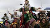 Les Rois mages gâtent les petits Espagnols
