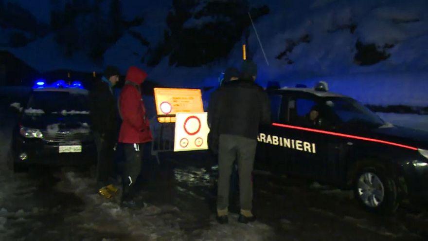 Estâncias na Cervinia no Vale de Aosta encontram-se isoladas