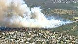 Cerca de meia centena de fogos foram declarados no sábado