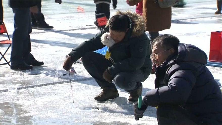 """""""Зимние Олимпийские игры"""" по рыбной ловле"""