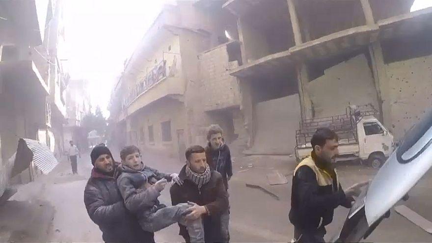 Novos ataques em Ghouta