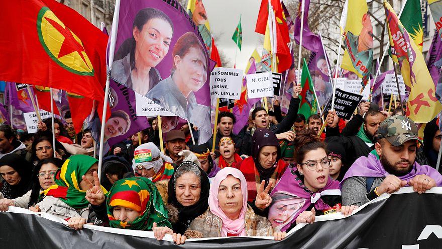 Курды против визита Эрдогана во Францию