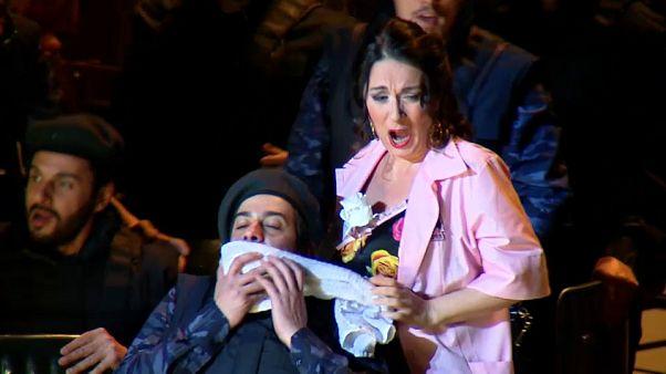 Veronica Simeoni stars as Carmen in the reimagined version