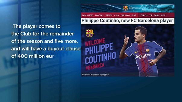 El Barcelona ficha a Philippe Coutinho
