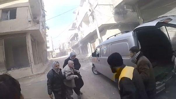 Siria: morti nei bombardamenti ad est di Damasco