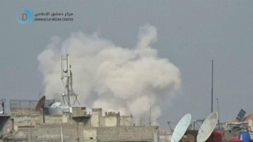 Százezrek rekedtek az ostromgyűrűben Damaszkusz környékén