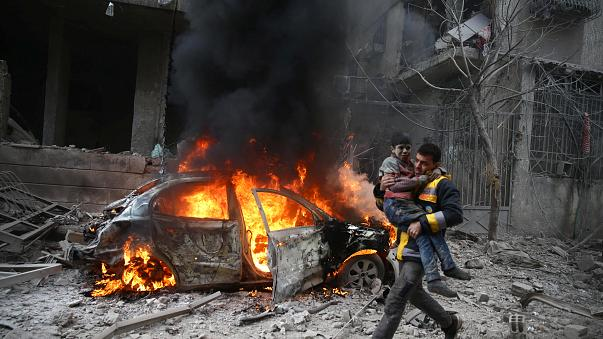 At least 17 civilians killed in Syria airstrikes, says monitor
