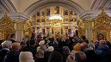 Los cristianos ortodoxos celebran la Navidad