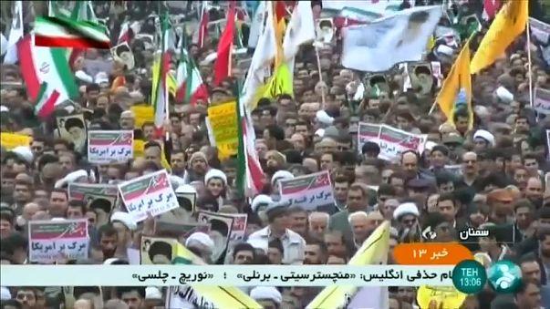 Nuevas marchas en apoyo al régimen iraní