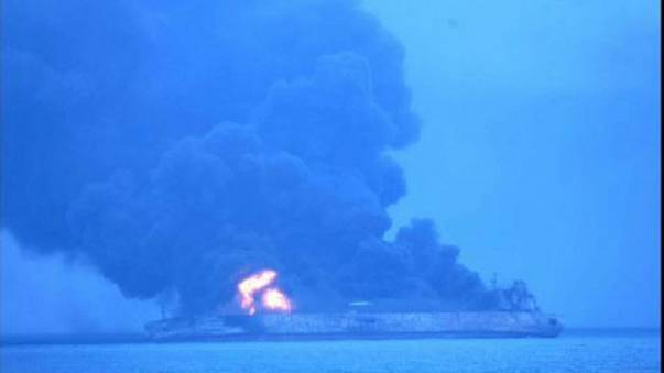 32 sailors go missing after tanker and freight ship collide off China