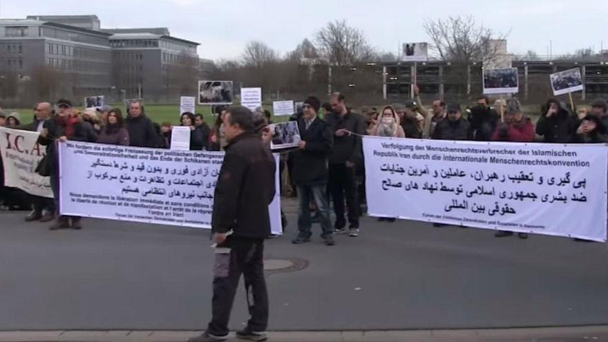iranian protests against hashemi Shahroudi Hanover Germany