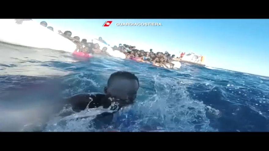 25 migrants meurent noyés en Méditerranée