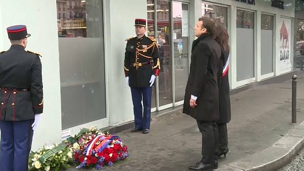 França recorda os três dias de terror em Paris