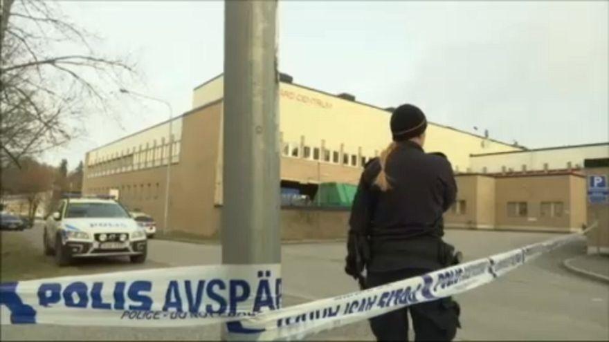 Kisebb robbanás egy stockholmi metróállomásnál