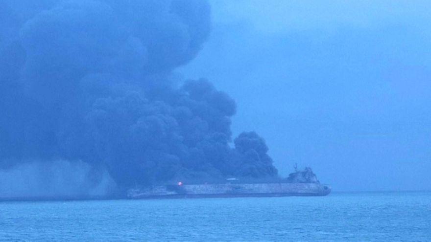 Desaparecen 32 marineros tras el choque de dos barcos en aguas chinas