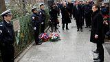 Fransa'da Charlie Hebdo kurbanlarına anma töreni