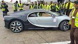 """السيارة """"بوغاتي"""" الأغلى عالميا تصل المغرب وتساؤلات حول مالكها"""