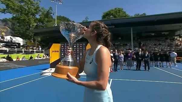 Tennis: Julia Görges holt sich dritten Turniersieg in Serie