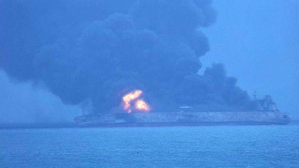 Desaparecidos 32 tripulantes de petroleiro acidentado no Mar da China Oriental