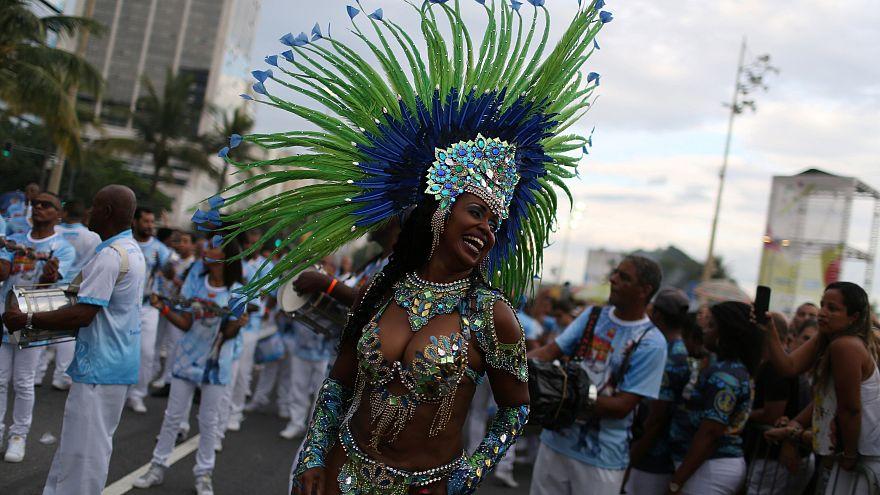 Carnaval em janeiro no Rio