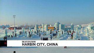 Харбин: фестиваль ледовых скульптур