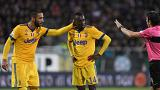 matuidi complains racial abuse in stadium