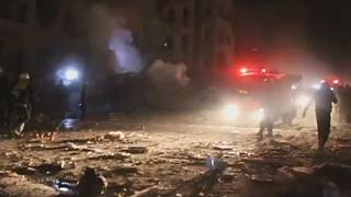 شهر ادلب پس از انفجار