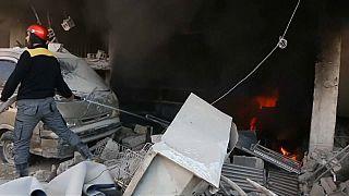 Idlib explosion claims many lives