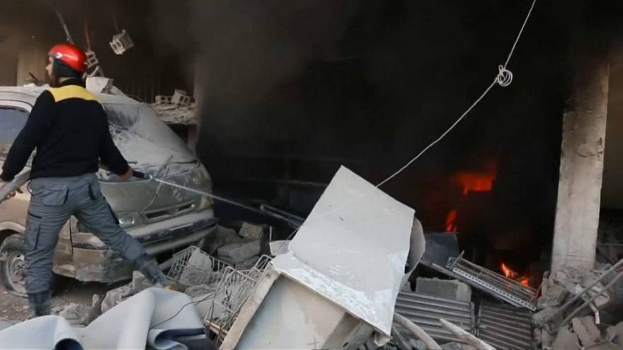 Idlib explosion claims many lives