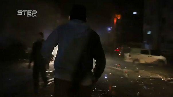 Explosão mortal em Idlib
