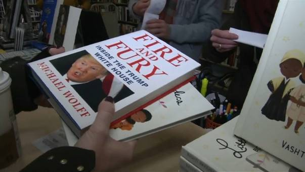 Guerra del equipo de Donald Trump contra el libro 'Fuego y Furia'