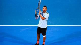Kyrgios wins first ATP title on home soil