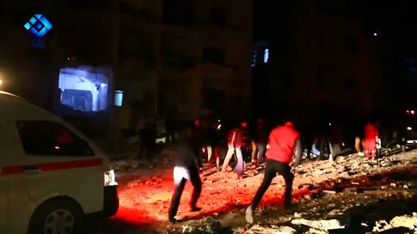 Взрывы в Идлибе: десятки жертв