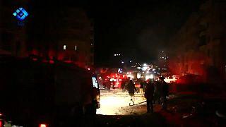 Decenas de muertos y heridos en una explosión en el noroeste de Siria