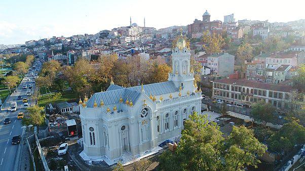 Demir Kilise ibadete açıldı