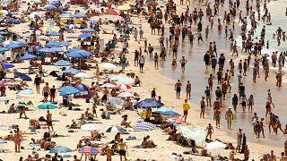 Iστορικός καύσωνας πλήττει την Αυστραλία