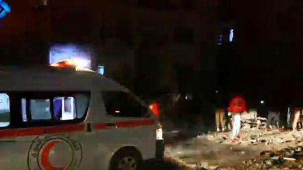 23 قتيلا على الأقل في انفجار استهدف مقر فصيل معارض بإدلب