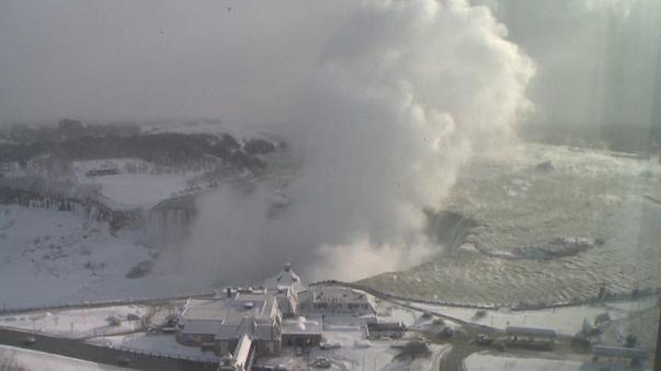 Ниагарский водопад во льду