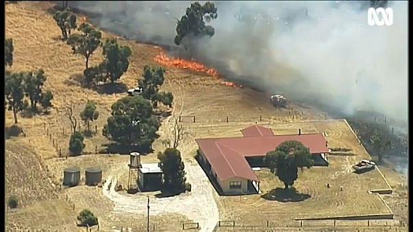 Record heatwave in Australia sparks bushfires