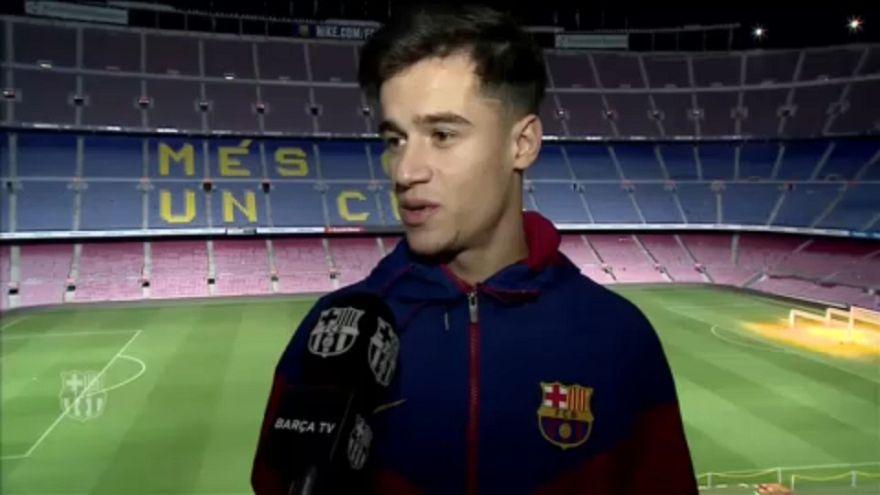 Coutinho már Barcelonában ébredt